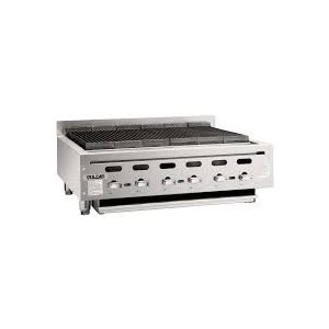 "ACHIEVER 36"" HEAVY-DUTY RADIANT NATURAL GAS CHARBROILER - 102,000 BTU"