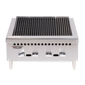 "CHARBROILER 25"" C/W CAST IRON RADIANTS 58,000btu NAT/GAS"