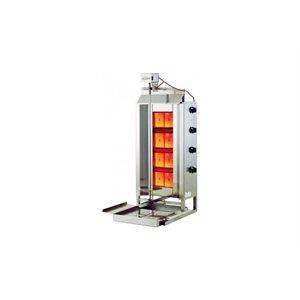 Grilloir Vertical, 4 Plaques Chauffantes, 44000 BTU, 110V/60 Hz/1Ph