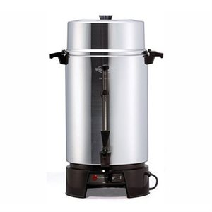 "Cafetière en Aluminium, 100 Tasses, 120V/1500W ""Crown"""