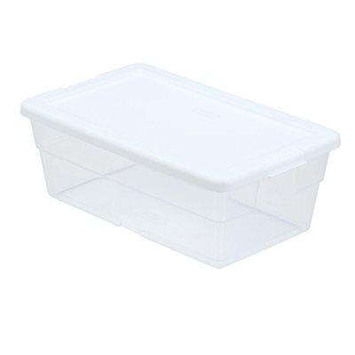 Boîte de rangement claire, 5.7L