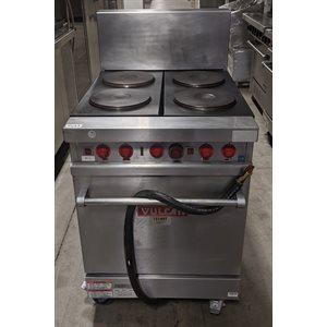 Four à griller avec 6 plaques de cuisson Vulcan E24L usagé