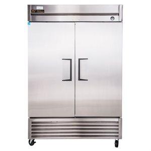 Réfrigérateur, 2 Portes battantes, Acier Inoxydable, 54 X 29.5 X 78.25 Po