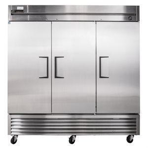 Réfrigérateur, 3 Portes battantes, Acier Inoxydable, 78 X 29.5 X 79.25 Po