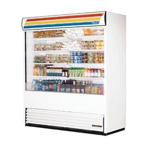 """Réfrigérateur A Rideau Ouvert, Blanc, 72 X 30.13 X 80.63 Po, """"True"""""""