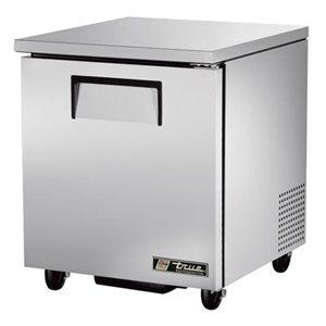 """Réfrigérateur """"Sous Comptoir"""" En Acier Inoxydable, 27 Po En Largeur"""